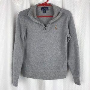 Polo Ralph Lauren Quarter Zip Pullover Size 4T
